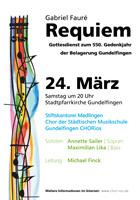 Requiem von Faure | CHORios & Stiftskantorei Medlingen (24.03.2012)